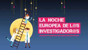 El Sama en la Noche Europea de los Investigadores.
